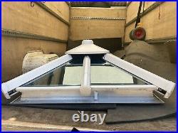 Upvc Pvcu White Rooflight Window-sky-light-lantern-exterior-external-roof Pod