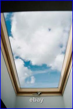 VELUX 94cmx160cm Pine Roof Window Attic Loft Skylight DUAL TopHung+CentrePivot