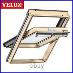 VELUX CK04 Pine Centre Pivot Roof Window Loft Skylight 55cm x 98cm GENUINE VELUX