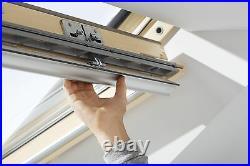 VELUX FK06 Pine Centre Pivot Roof Window Wooden Loft Skylight 66cm x 118cm Velux