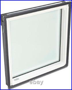 VELUX Fixed Skylight Roof Window 30.06 in. X 37.88 in. Deck-Mount Low-E3 Glass