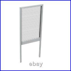 VELUX Skylight Blind Manual Room Darkening White (Fit GPU MK06 Roof Window)