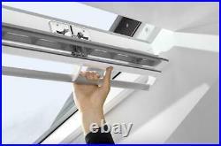 Velux CK02 GGL 2070 Roof Window & EDL Slate Flashing Kit Center Pivot Skylight