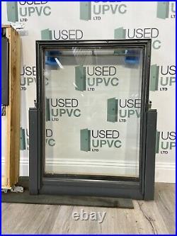 Velux Centre Pivot Window-roof-sky-light-grey-pine-used-flashing-double Glazed