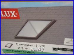 Velux Qpf 2230 2004 22.5 X 30.5 Pan Flashed Fixed Skylight Roof Window Laminated