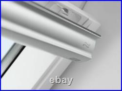 Velux Skylight Roof window with flashing, Polyurethane White