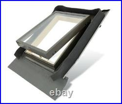 YARDLITE Pine Roof Skylight Window with flashing, for uninhabited spaces