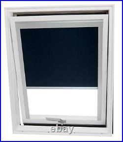 YARDLITE Unvented White PVC Roof Window Skylight + Flashing & Blinds